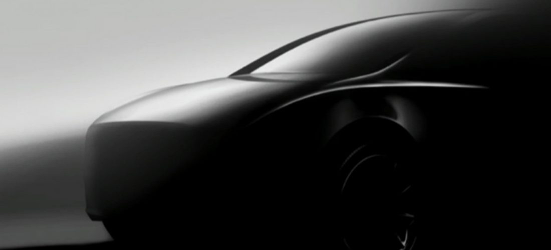 Tesla Model Y new teaser photo was unveiled