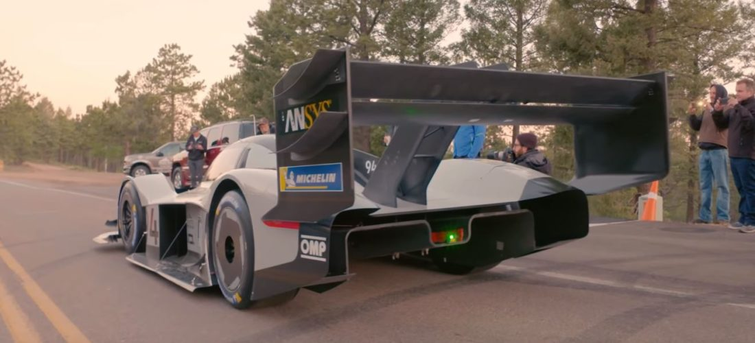 Volkswagen I.D. R Pikes Peak set the record to new levels