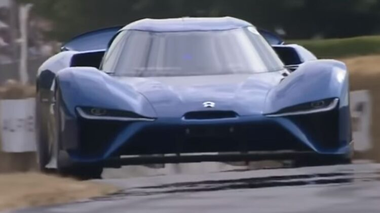 Nio EP9 Goodwood Festival