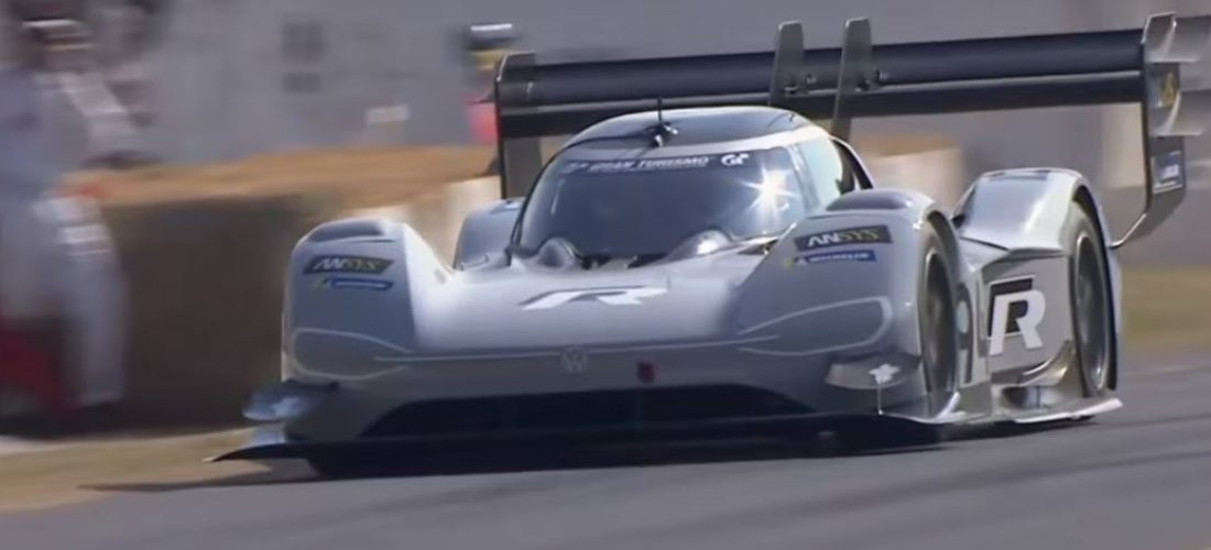 Volkswagen I.D. R Pikes Peak also shot the fastest time for electric car on Goodwood