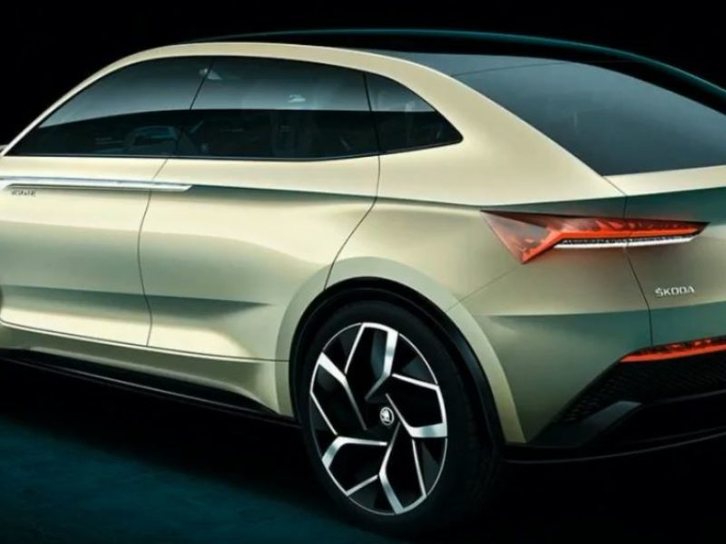 Skoda electric SUV-Coupe in production