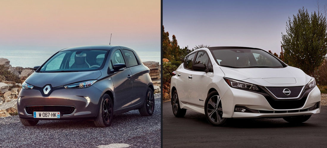 The Renault-Nissan-Mitsubishi alliance remains first place EV of sales in Europe