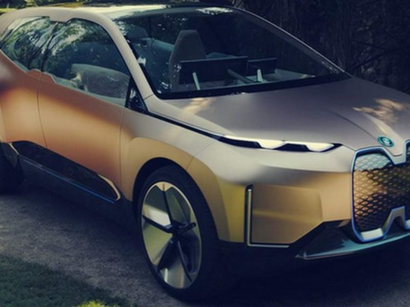 BMW Vision iNEXT Concept : new photos leaked