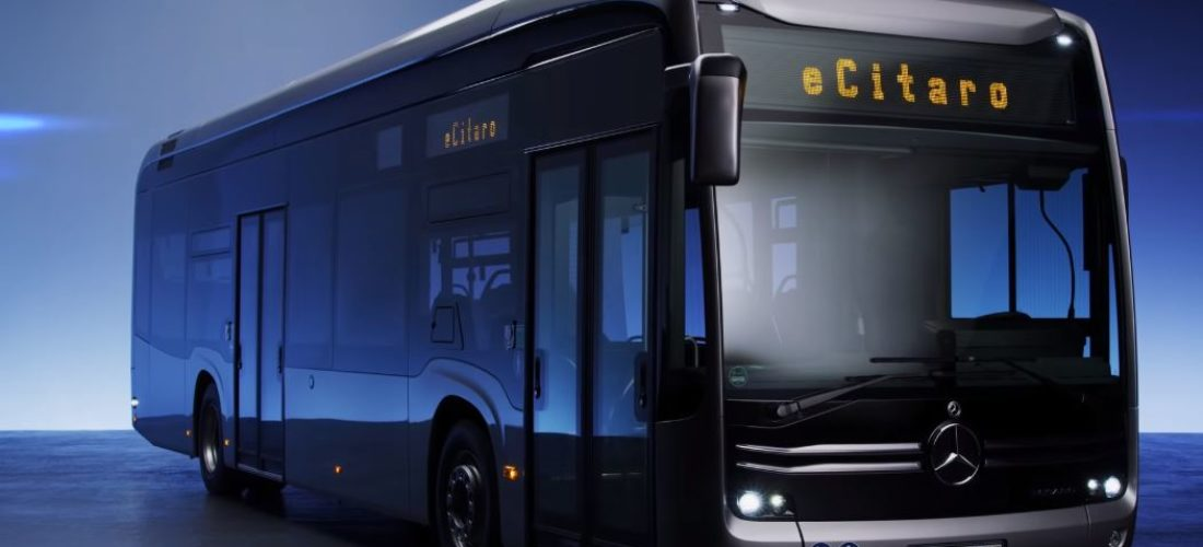 Mercedes eCitaro electric bus goes into action in Hamburg Germany