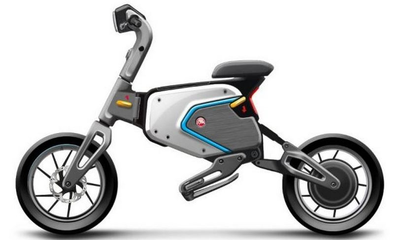 SYM electric foldable scooter