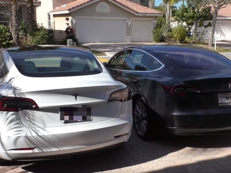 Tesla Model 3: Many improvements in just 7 months