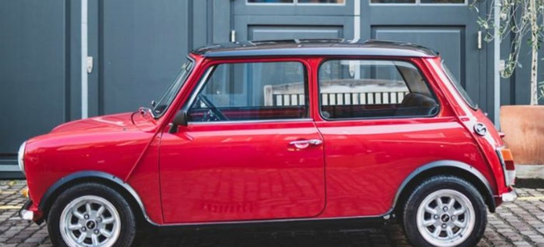 """Classic Mini gained an electric """"heart"""""""