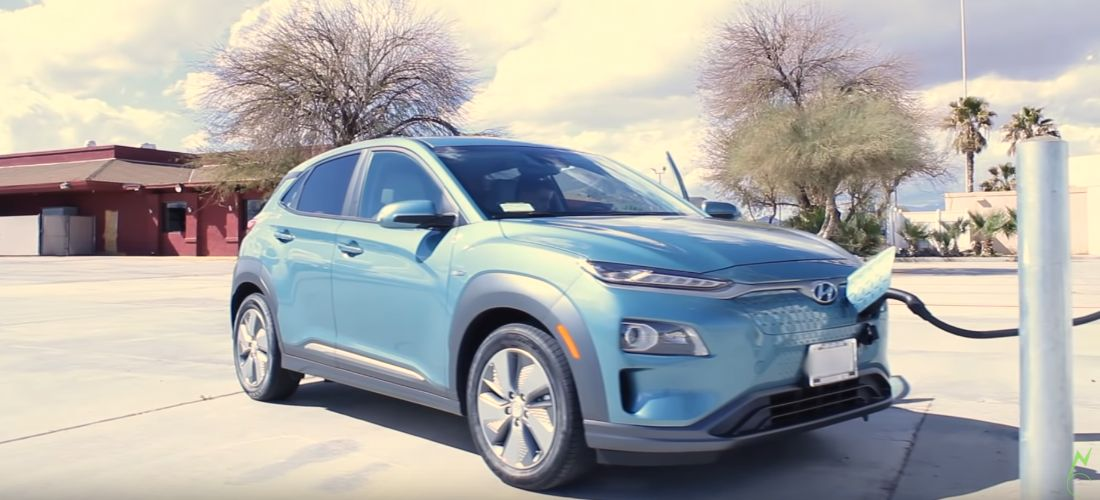 Watch Hyundai Kona electric and Bolt EV road trip