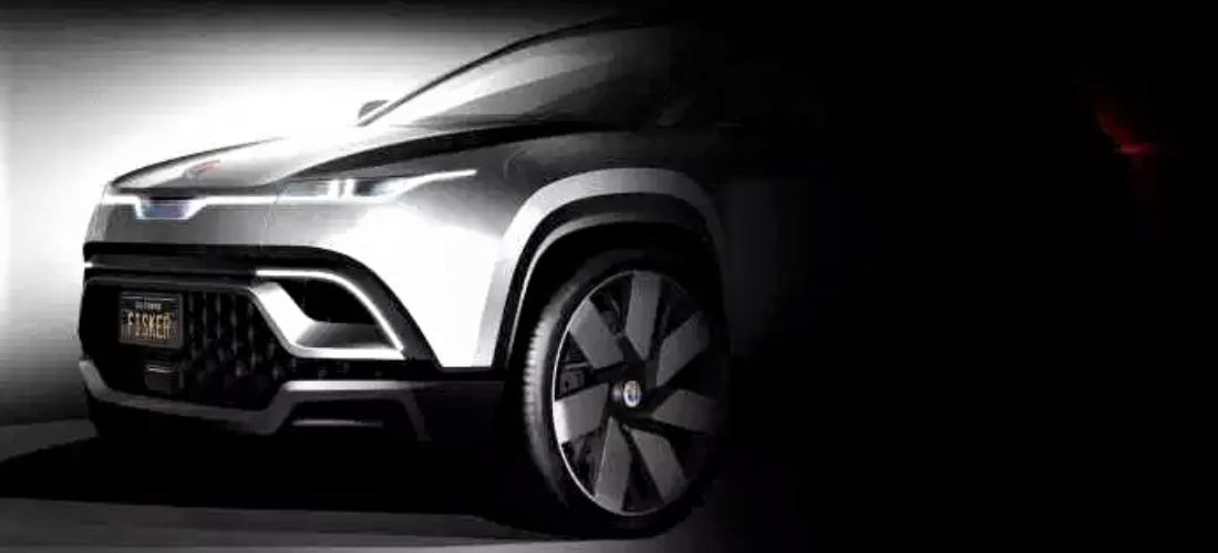 New teaser photos from Fisker electric crossover