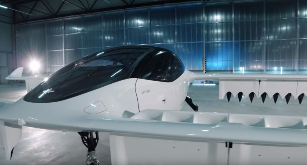 Lilium flying taxi
