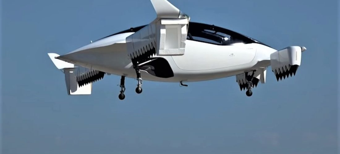Lilium Jet flying taxi completes the first flight