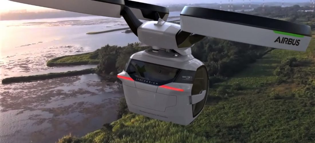 With Flying taxis the Paris 2024 Olympic Games