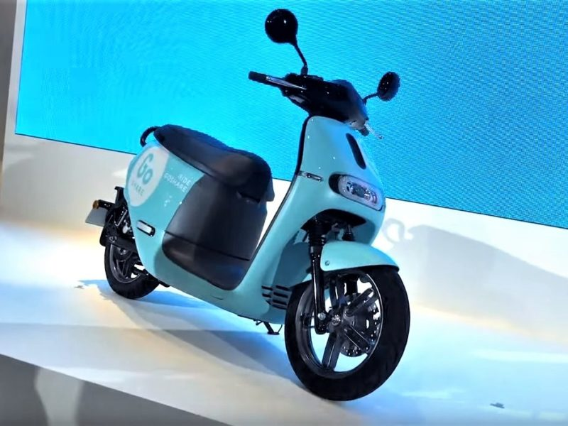 Gogoro Goshare network for electric scooters sharing