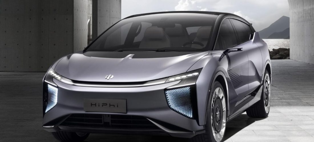Electric luxury SUV HiPi 1 from Human Horizon