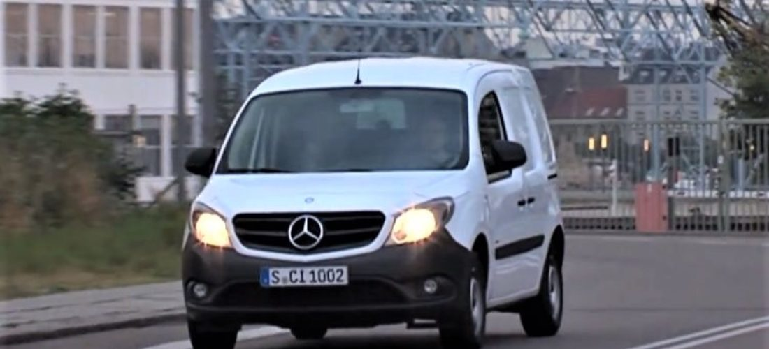 New Mercedes Citan VAN will have electric version