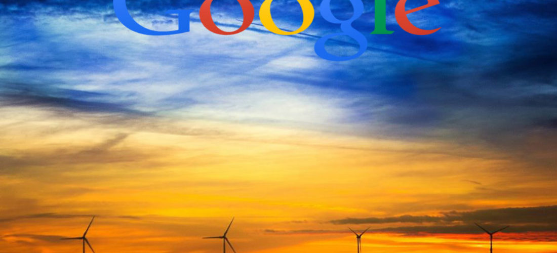Giant investment by Google in renewable energy sources