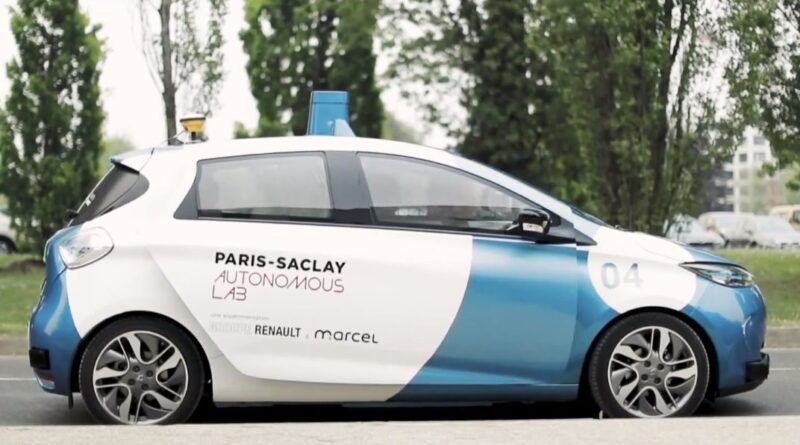Renault launches Paris-Saclay Autonomous Lab