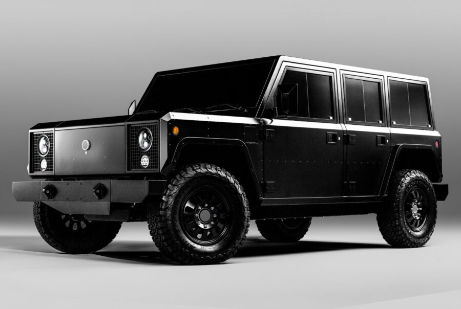 Bollinger reveals heavy-duty electric truck and SUV