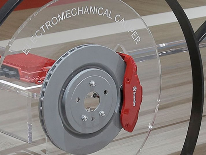 Brembo : New silent brakes for electric cars