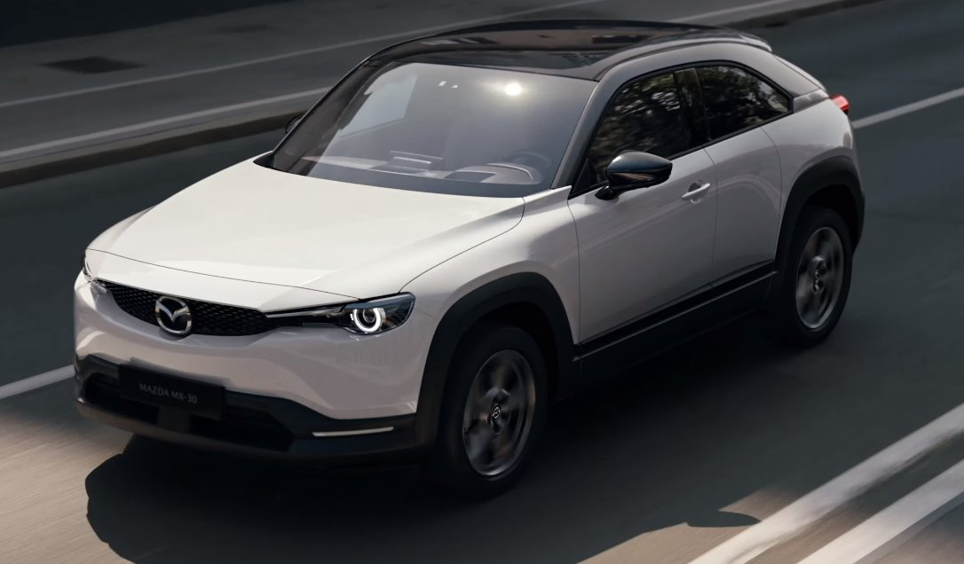 Mazda MX 30 electric crossover Inspired by the RX-8