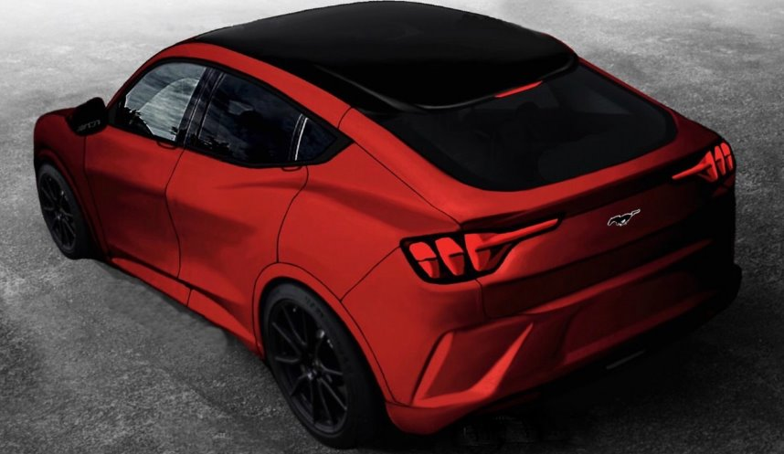 This is the electric Mustang Crossover?