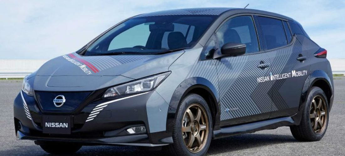Nissan Leaf with 304 horsepower and AWD
