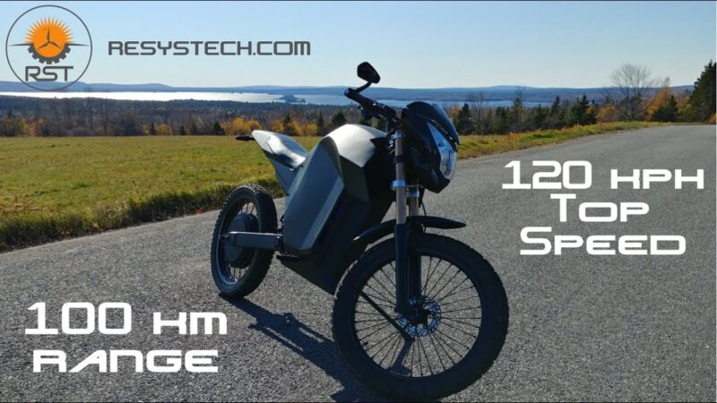This guy building an Electric Motorcycle entirely