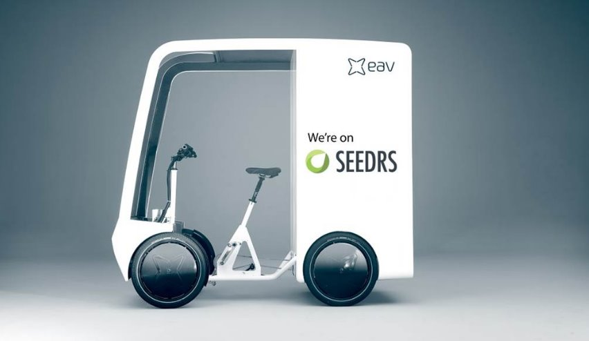 EAVan Could an ebike the ideal delivery vehicle courier