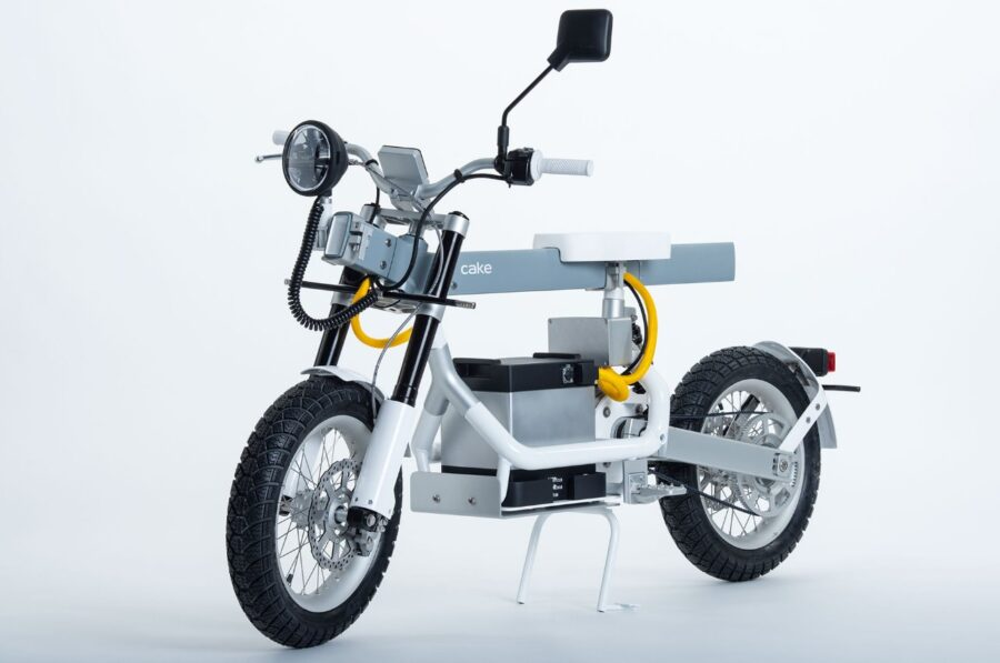 Cake new electric two-wheeled vehicle are multi use