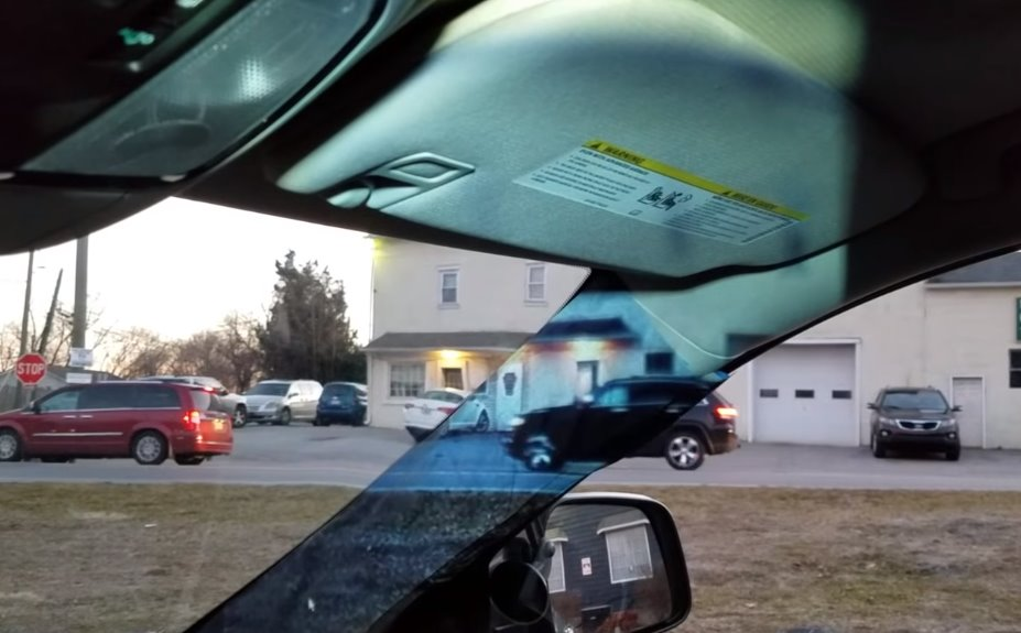 Teen erases blind car spots with a camera and a projector
