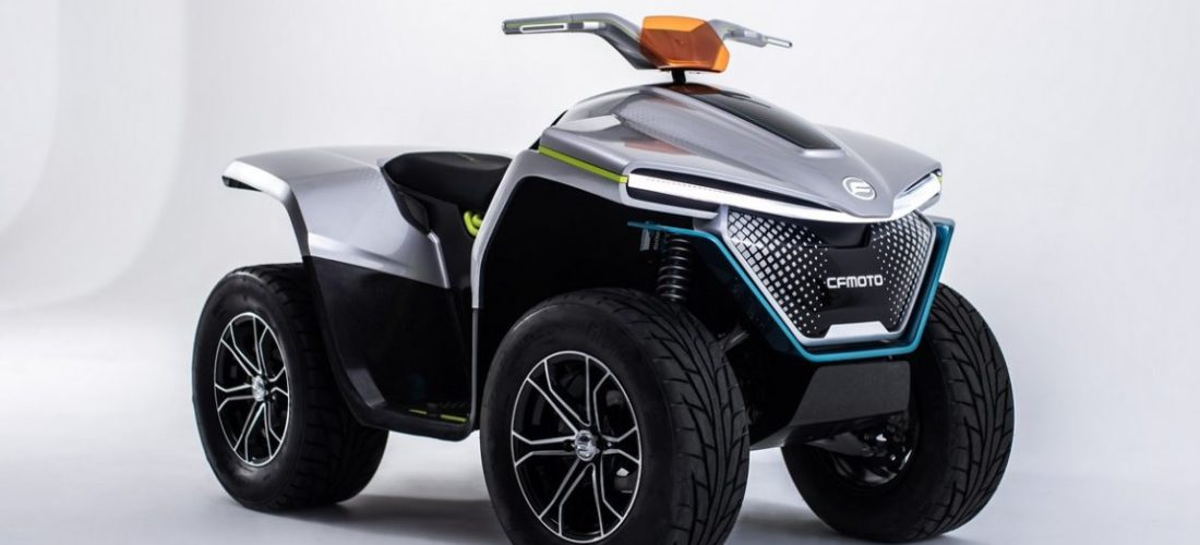 EICMA 2019 : CFMoto ATV Electric Prototype Concept