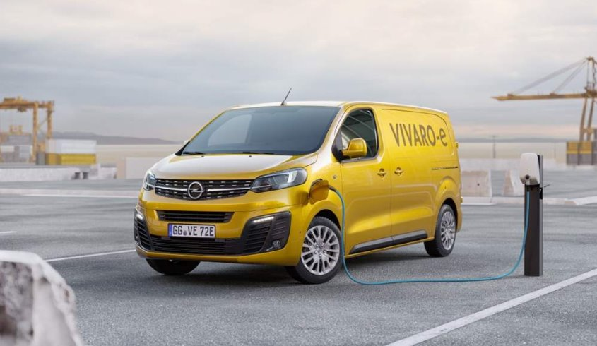 New Opel Vivaro-e VAN with two battery sizes