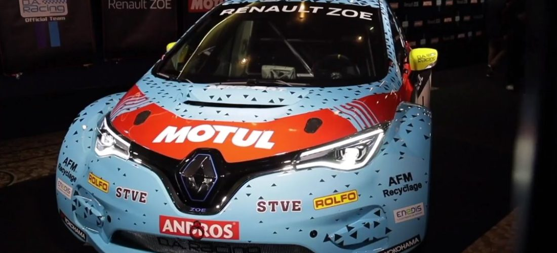 Renault Zoe ready to hit e-Trophée Andros