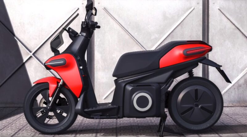 SEAT e-Scooter Concept with 114 km electric autonomy