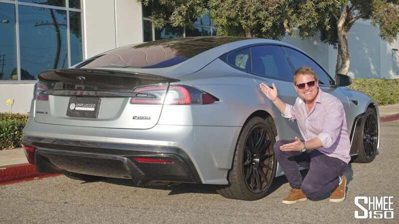 This Tesla Model S tuned internally and externally