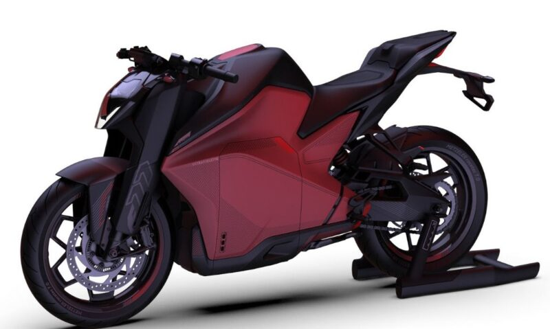 Ultraviolette unveils India's new electric motorcycle