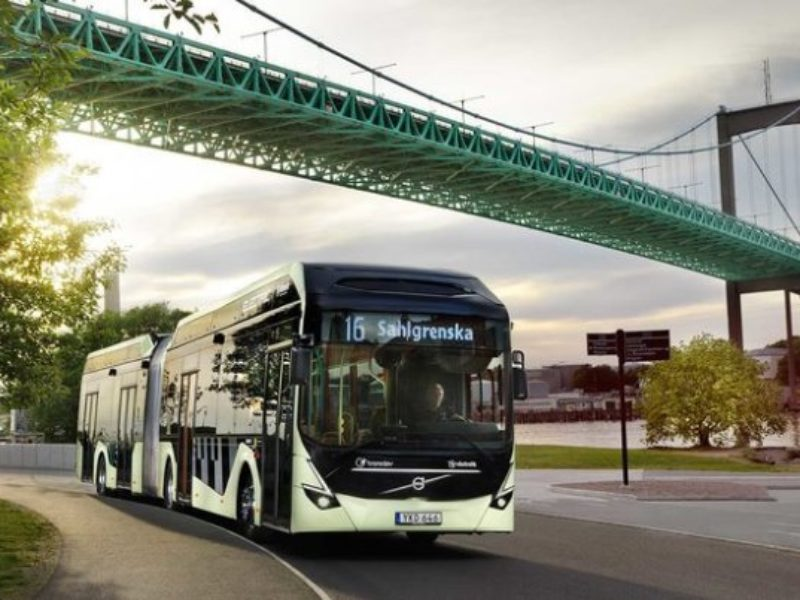 Volvo : 157 electric buses for Gothenburg next year