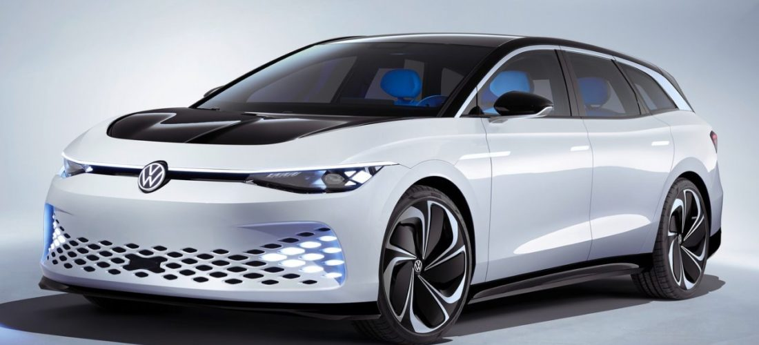 VW ID Space Vizzion : All-electric concept wagon