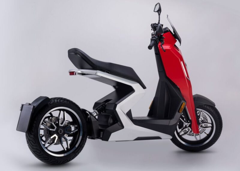 This is Zapp i300 innovative electric scooter