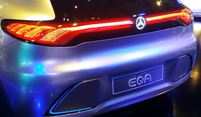 Mercedes confirms new electric EQA model for 2020