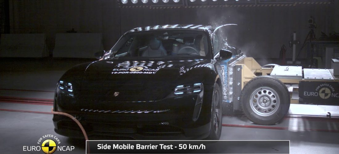 Porsche Taycan : So and so the result in Euro NCAP