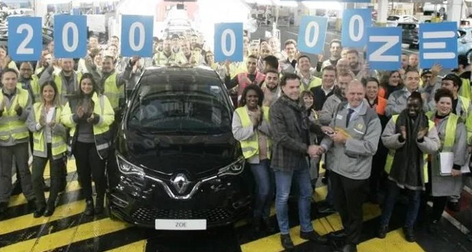 Renault : 200,000 full electric Zoe already produced