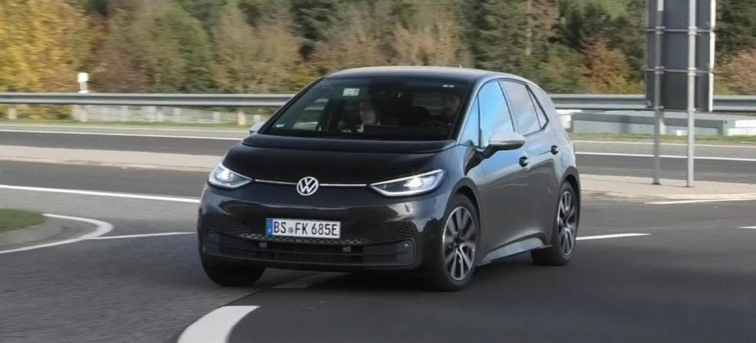 Watch VW ID.3 Driving around the Nurburgring