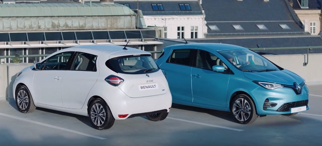 Renault sales record in pure electric cars