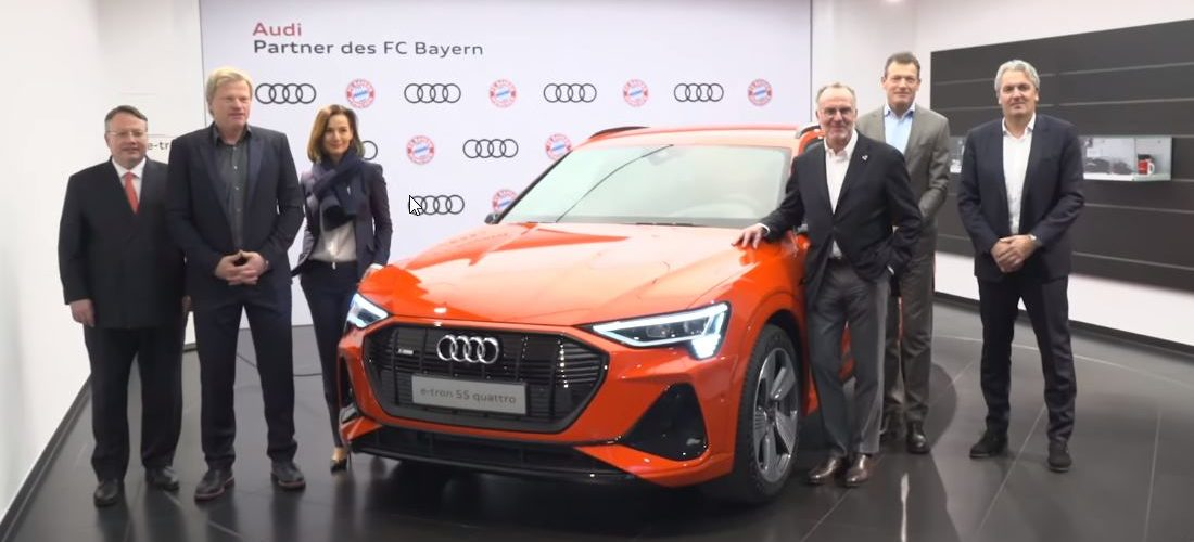 Bayern München : From the Audi Rs & S to electric E-Tron