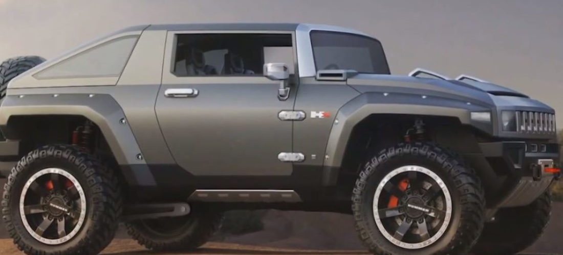 Hummer returns aggressive with electric SUV and Pickup