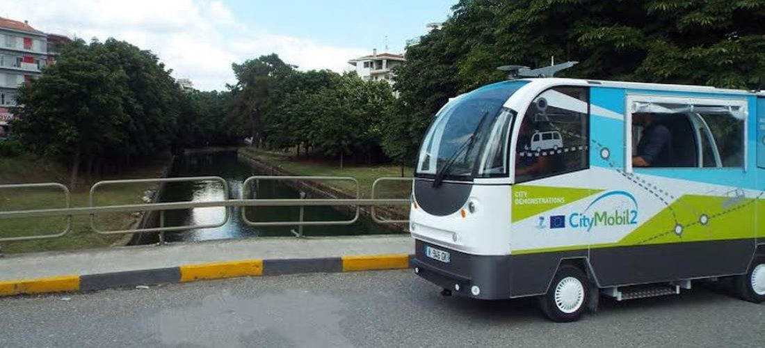 Greece : Trikala launches autonomous buses for public