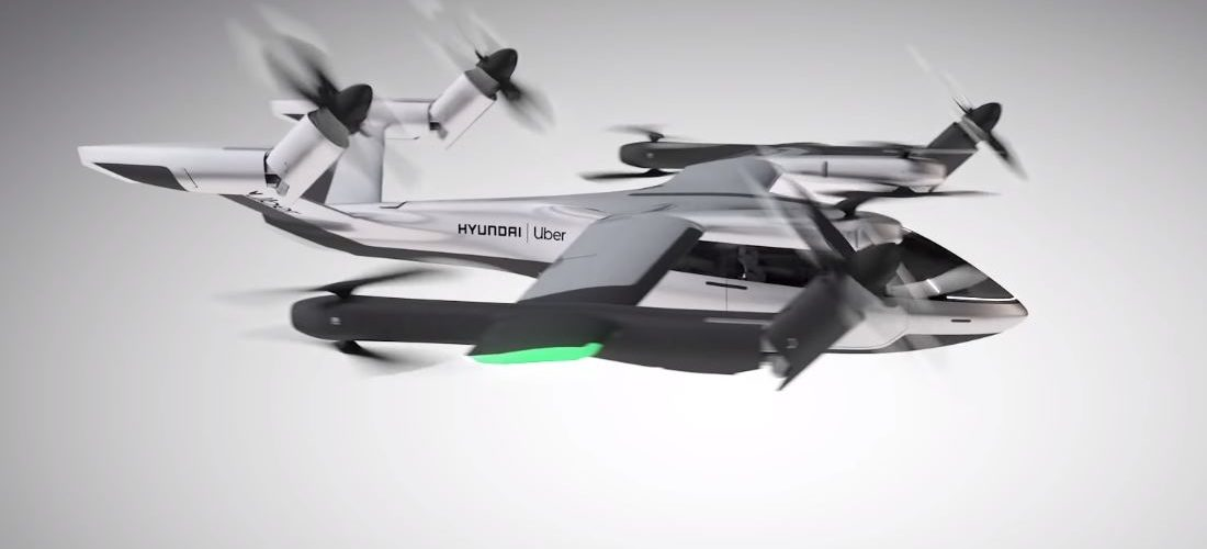 Uber and Hyundai reveal a pioneering 5-seater flying taxi