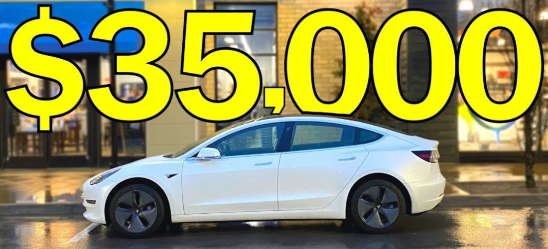 Tesla Model 3 Standard range $35,000 still available?