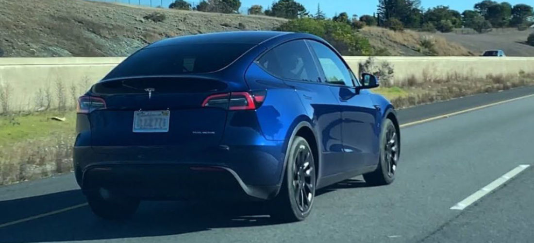New Tesla Model Y evolution tests continue